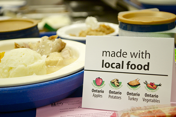 Ross Memorial Hospital decreases ecological footprint with wholesome, nutritious local food