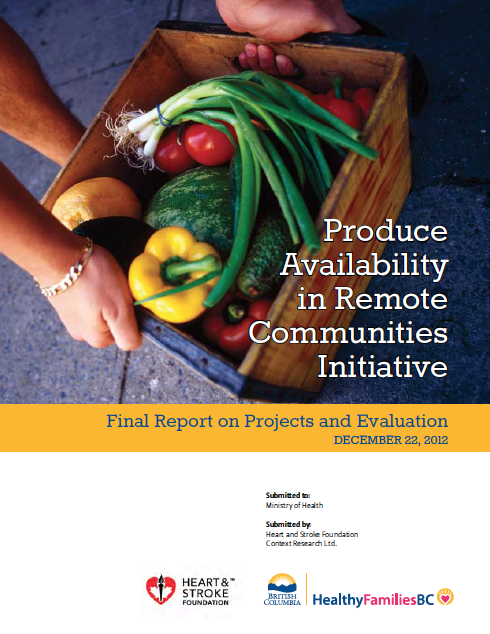 Produce Availability in Remote Communities Initiative