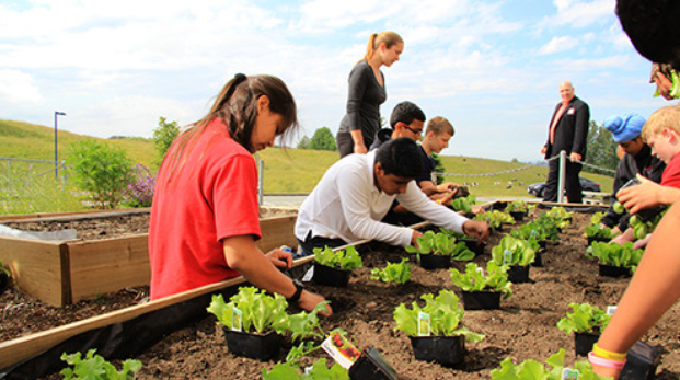 Students begin farming to help the Abbotsford Food Bank