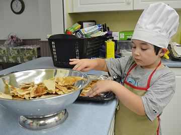 Little Chefs learning the joys of cooking