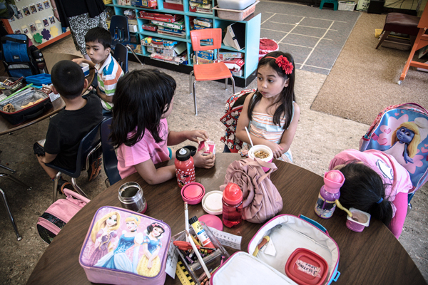 For Kids, the Meal Is the Message