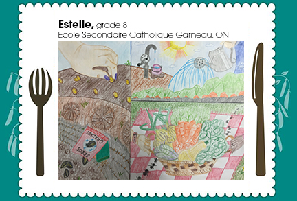 Estelle, grade 8, Ecole Secondaire Catholique Garneau, ON