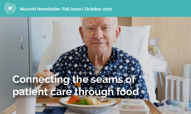 CONNECTING THE SEAMS OF PATIENT CARE THROUGH FOOD.
