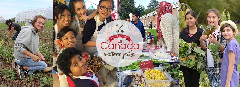 De la ferme à l'école : Le Canada, une terre fertile!
