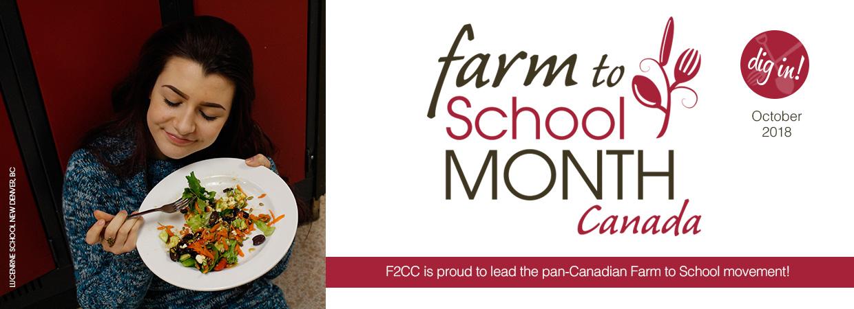 Farm to School Month 2018