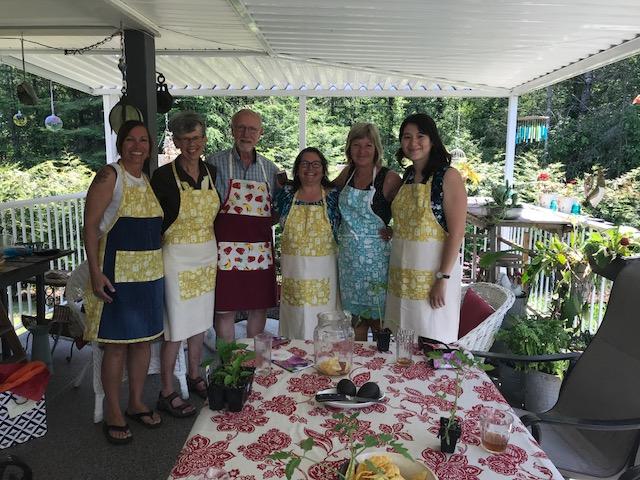 Salad Bar Volunteers