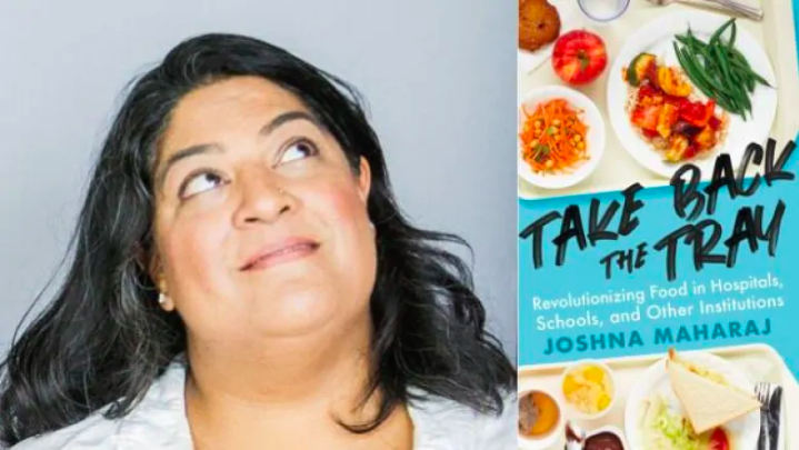 Chef Joshna Maharaj believes institutional food could be tasty and nourishing