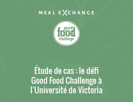 L'Université de Victoria signe l'Engagement des campus envers la bonne nourriture