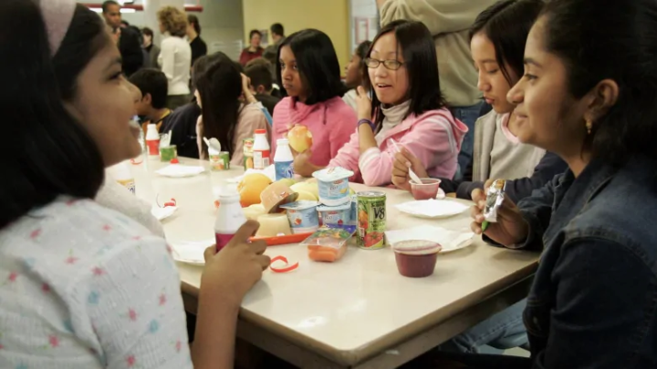 Canadian school kids' diet changes are 'definitely good news'