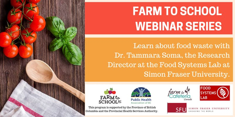 Farm to School Webinar series