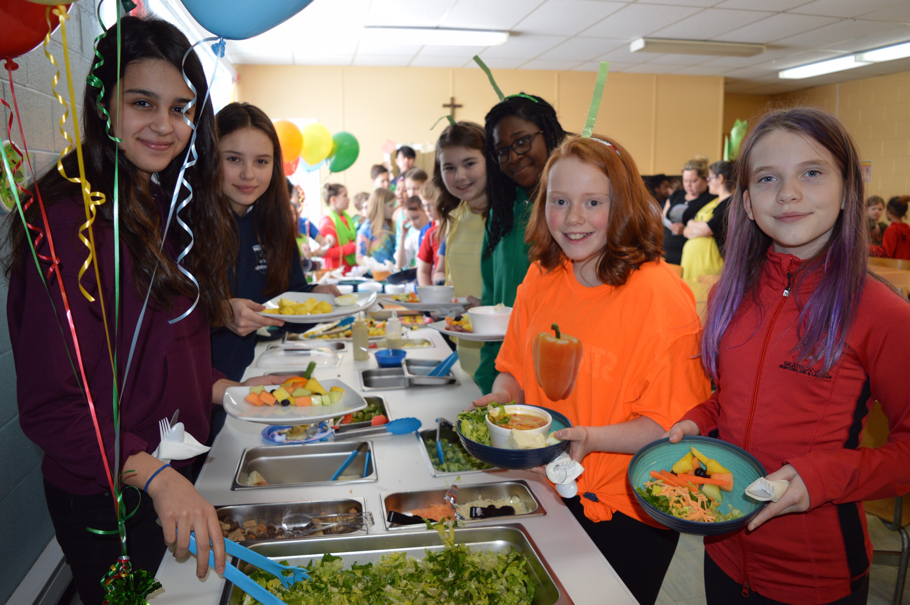 Healthy eating success at Immaculate Heart of Mary Corner Brook, NL