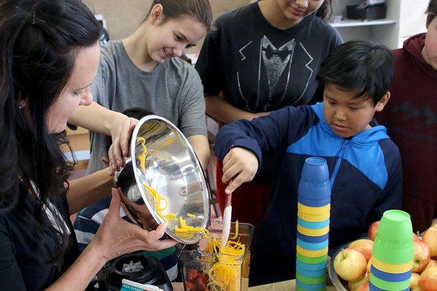 Northern Fruit and Vegetable Program launched at local schools